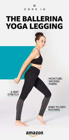 Hidden back pockets, moisture wicking fabric and 4-way stretch? Yes please! Shop next-level legging designs including the Ballerina legging. Shop Core 10 only on Amazon.