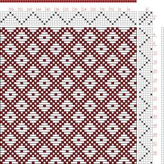 Hand Weaving Draft: Page 121, Figure 8, Donat, Franz Large Book of Textile Patterns, 6S, 6T - Handweaving.net Hand Weaving and Draft Archive