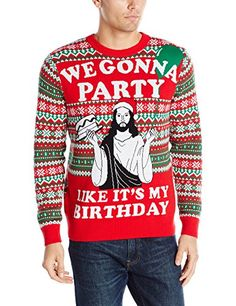 It's time to throw fashion sense to the wind and put on whatever funny holiday sweaters we can find and the search starts with this list!