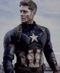Sam E Dean Winchester, Winchester Supernatural, Winchester Brothers, Supernatural Fandom, Dean Whinchester, Supernatural Cartoon, Jensen Ackles Supernatural, Captain America Costume, Studios