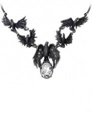 """""""A Murder of Crows"""" Necklace by Alchemy of England"""