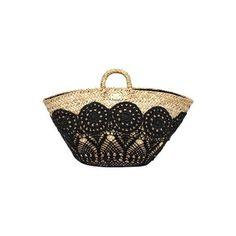 Borse Dolce Gabbana, cesta in paglia e crochet found on Polyvore featuring polyvore, fashion, accessories, bags and dolce&gabbana