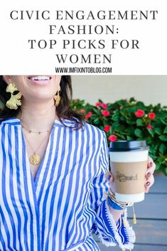 NC Blogger I'm Fixin' To shares top civic engagement fashion picks for women   accessories and info on registering to vote. Check it out!