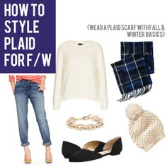 jillgg's good life (for less) | a style blog: how to style plaid for fall & winter!