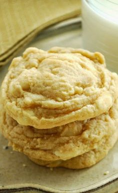 BANANA CREAM COOKIES