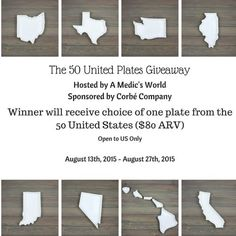 The Fifty United Plates Giveaway {US | Ends 08/27} - Pink Ninja Blogger