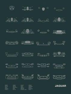 Auto Icon Screen Print Series: Jaguar #Jaguar #FTYPE #cars #FPACE #car #XF #Essex #usedcars