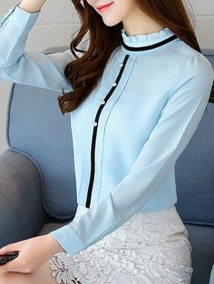 Classy Outfits, Beautiful Outfits, Casual Outfits, Fashion Outfits, Blouse Styles, Blouse Designs, Indian Designer Suits, Business Fashion, Casual Dresses For Women