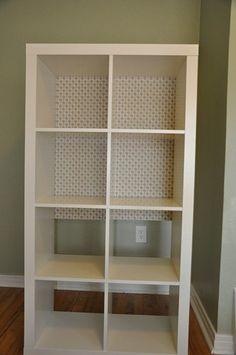 bookshelf backing target placemats - Lowes Bookshelves