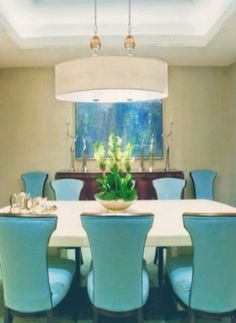 Tiffany Blue Dining Room  With Black Furniture | Decorating Ideas |  Pinterest | Blue Dining Rooms, Black Furniture And Tiffany Blue