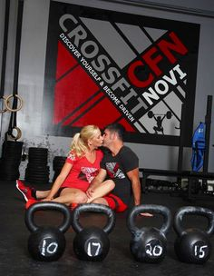 Couples who CrossFit together stay together...