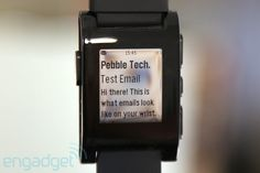 Pebble - not bad, but I'll wait for version 2