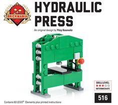 Brickmania Toys - Hydraulic Press - The Workshop Collection, $19.00 (http://www.brickmania.com/hydraulic-press-the-workshop-collection/)