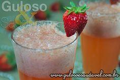 Drink de Morangos sem Álcool » Bebidas, Liquidificador, Receitas Saudáveis » Guloso e Saudável