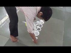 Sanskar Bharati Rangoli Basic Design Diwali special small rangoli Special rangoli design - YouTube