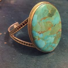 Anna Beck Jewelry - Anna Beck Large Turquoise Cuff