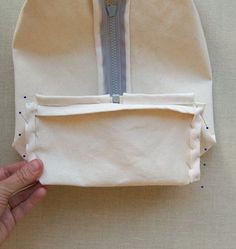 Zippered Dopp Kit How to Dopp Kit, Purl Soho, Zipper, Sewing, Pattern, How To Make, Crafts, French, Couture