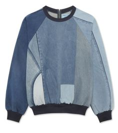 アシシュ - Ashish - Denim sweatshirt-94   RESTIR リステア