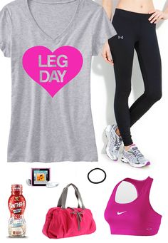 Cool #GymGear board featuring LEG DAY #Workout Shirt Gray with Pink by #NobullWomanApparel, $24.99 on Etsy. Look great & motivate! Click here to buy: https://www.etsy.com/listing/166154941/leg-day-workout-shirt-gray-with-pink-gym?ref=shop_home_active_5