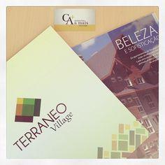 Folder de apresentação criado pela Agência Conceito.