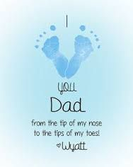 hand and footprint poems for parents - Google Search