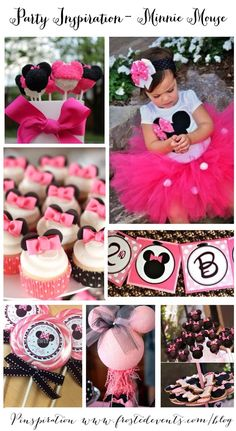 Minnie Mouse Birthday Party Ideas & Inspiration Party Planner Guide www.frostedevents.com | Frosted Events