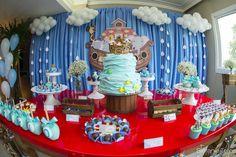 Noah's Ark dessert table from a Noah's Ark Birthday Party on Kara's Party Ideas   KarasPartyIdeas.com (16)