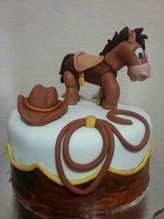 Fondant, baby horse, tiro al blanco