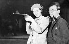 shoot! Simone de Beauvoir & Jean Paul Sartre
