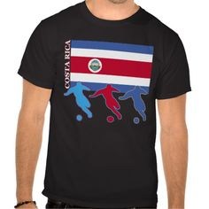 Shop Soccer Costa Rica T-Shirt created by nitsupak. Soccer Gifts, Tee Shirts, Tees, Tshirt Colors, Fitness Models, Football, Amazing, Casual, Sports