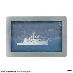 HMCS Brandon Rectangular Belt Buckles