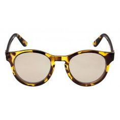 We lurve tortoiseshell. Makes a pleasant, yet classic, change from the usual black. These shades are by Le Specs from GLUE STORE.