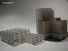 Miniature Building Kirigami