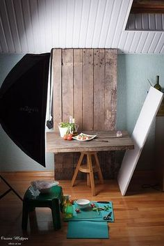 Photography tips | DIY sets for food photography -