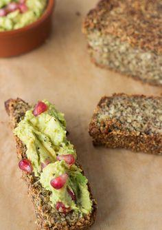 The Body Loving Super Bread - Easy Paleo Recipes Vegan Recipes Videos, Cooking Recipes, Healthy Recipes, Bread Recipes, Paleo Bread, Low Carb Bread, Gluten Free Baking, Gluten Free Recipes, Sin Gluten