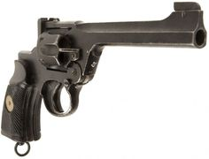 Deactivated WWII Enfield MKI Albion Manufactured Tank Revolver - Allied Deactivated Guns - Deactivated Guns