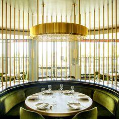 """Le """"Song Qi"""", premier restaurant gastronomique chinois de Monaco a fait appel à l'agence d'architecture d'intérieur Humbert et Poyet pour ré..."""