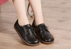 Oxford Leather Shoes for Women, Close Shoes, Flat Shoes,Casual Shoes More Shoes: https://www.etsy.com/shop/HerHis?ref=shopsection_shophome_leftnav