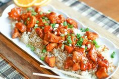 The Orange Chicken Dish at the Asian Restaurants is delicious. Cook this Instant Pot Orange Chicken Recipe in 15 minutes! Instant Pot Pressure Cooker, Pressure Cooker Recipes, Pressure Cooking, Slow Cooker, Pressure Pot, Smoked Salmon Cream Cheese, Cuisine Diverse, Orange Chicken, Chicken Recipes