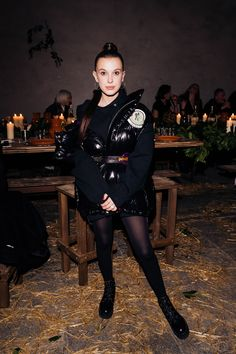 February 20 - Moncler Women's Fall/Winter Fashion Show - - Millie Bobby Brown FAN Millie Bobby Brown, Bobbi Brown, Bobby Brown Stranger Things, Browns Fans, Celebs, Celebrities, Moncler, My Idol, Autumn Winter Fashion