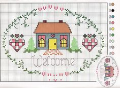 Sweet design I have stitched this before