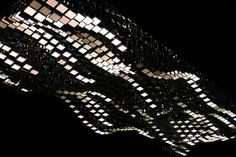Installation, interactive, Light, OLED, iPad, LivingSculpture 3D module system, by WHITEvoid