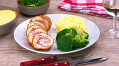 Treat yourself, with our Cordon Bleu Chicken with Béchamel Sauce