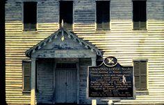 An 1824 public building at Perdue Hill, AL.