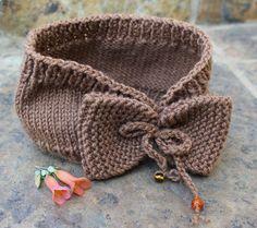 Ladies ear warmer  Headband  Brown ear warmer  by KennaInAfrica, $23.50