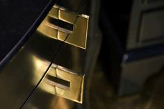 Brass furniture handle CLEAN CUT 60 B&B Sweden, Bäccman & Berglund Sweden