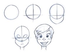 Drawing a basic Cartoon head and face | Jay FHJay FH