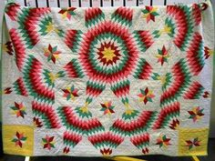 shopgoodwill.com - #24229762 - Vintage Hand Sewn Quilt Measuring 80 x 78 - 9/21/2015 7:06:00 PM