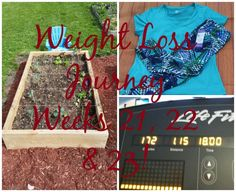 Where did the time go?!! Weight Loss Journey Week 21, 22 & 23!! - WEMAKE7