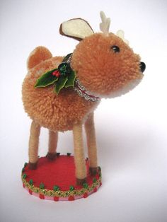 Lovely Baby Fawn by TheCupOfTea on Etsy, $75.00